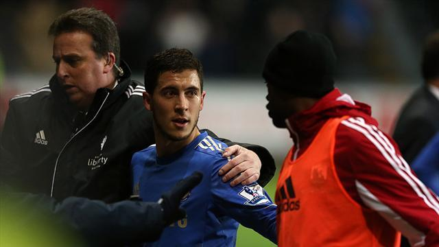 League Cup - Hazard hit with FA charge