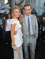 Blake Lively and Ryan Reynolds arrive at the premiere of Warner Bros. Pictures' 'Green Lantern' held at Grauman's Chinese Theatre on June 15, 2011 in Hollywood, California. -- Getty Images