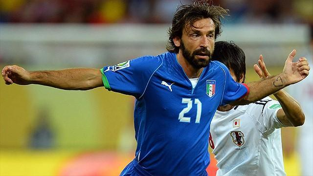 Liga - Real Madrid 'step up chase for Pirlo'