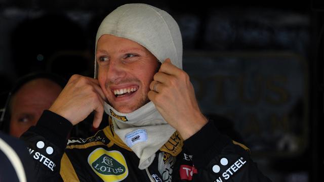 "Formel 1 - ""Crash Kid"" Grosjean bleibt bei Lotus"