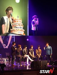 SS501 reunited at Kim Gyujong's fan meeting
