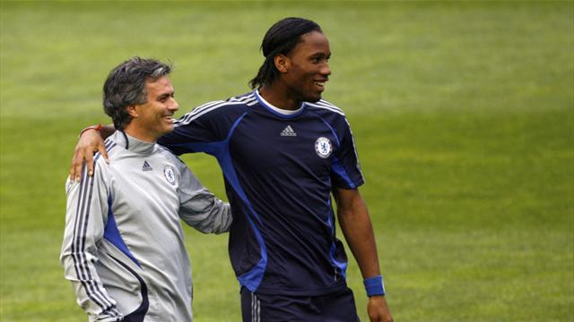 Champions League - Mourinho picks Drogba as his finest ever player