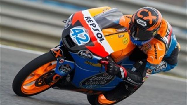 Motorcycling - Moto3: Rins blitzes qualifying