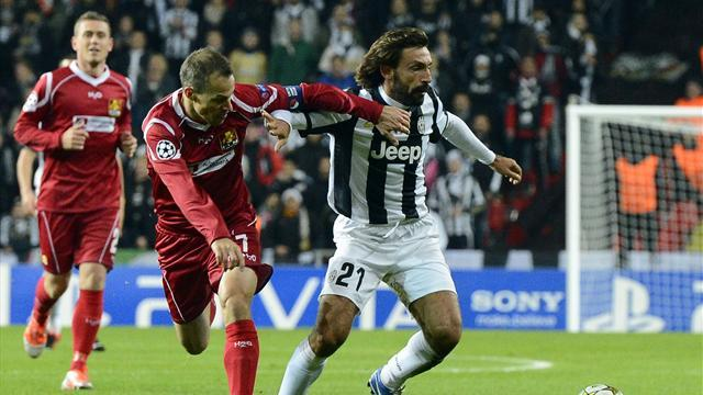 Champions League - Nordsjælland draw with Juventus