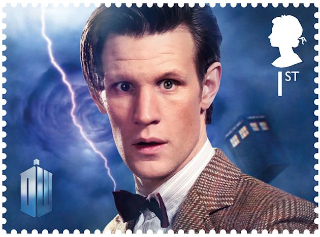 Matt Smith, the current Doctor, is the youngest actor to play the role (Royal Mail)