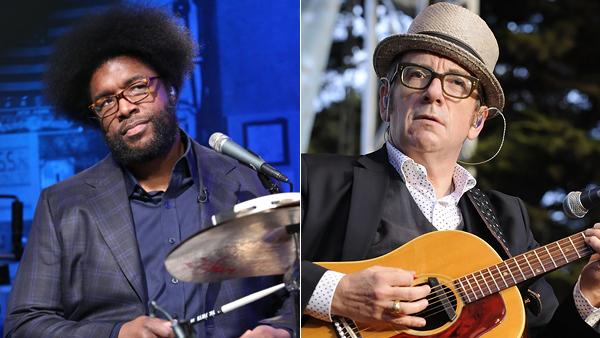 Questlove: Elvis Costello and the Roots Recorded 'A Brilliant Album'