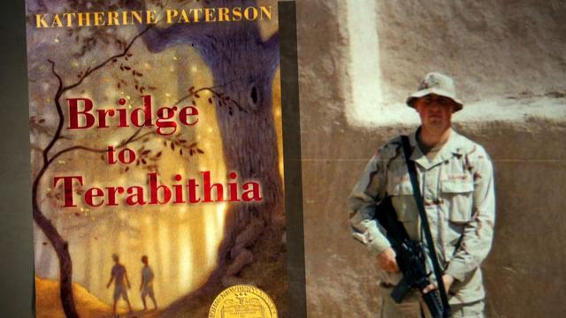 Children's novel a lifeline for American soldier at war