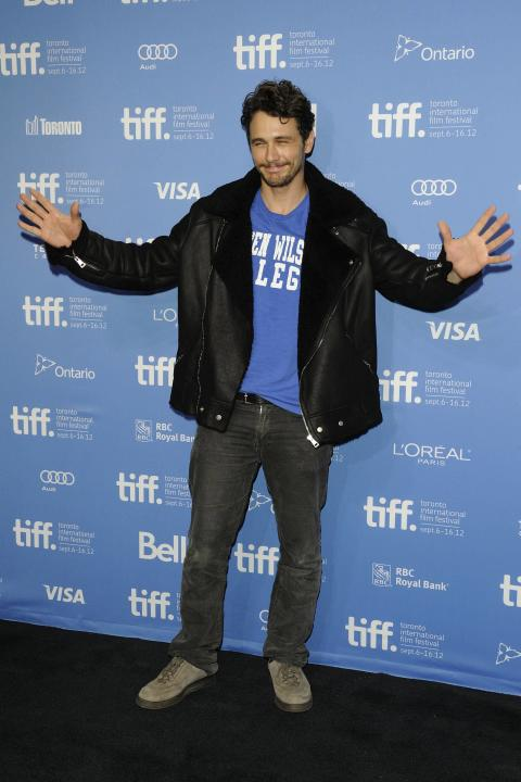 James Franco  'Spring Breakers' press conference photo call during the 2012 Toronto International Film Festival at TIFF BELL Lightbox. Toronto, Canada - 07.09.12  Mandatory Credit:Dominic Chan/ WENN.c