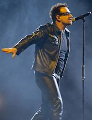 Bono's band U2 will unveil its new single on February 2 during the Super Bowl