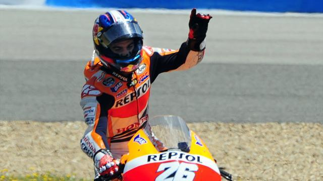 Motorcycling - Pedrosa boosted by Jerez victory