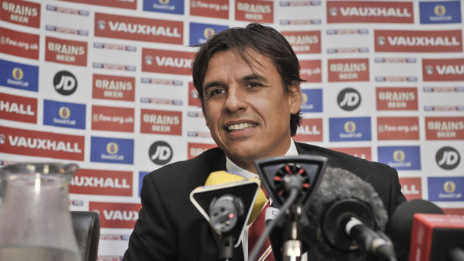 Soccer - 2014 World Cup - Qualifying - Group A - Wales v FYR Macedonia - Wales Press Conference - Parc y Scarlets