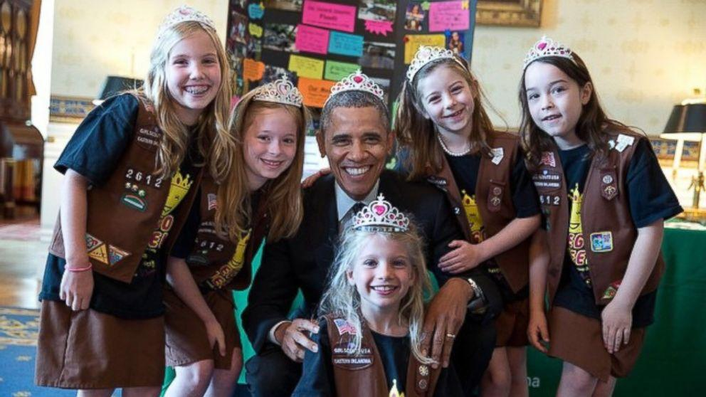 Obama Breaks Cardinal Presidential Rule by Donning Tiara