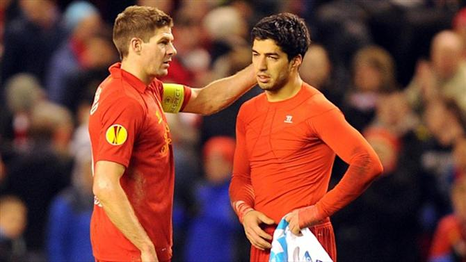 Premier League - Suarez returns for brief goodbye