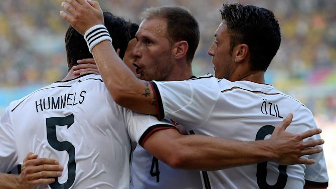 World Cup - Germany beat France to make semi-finals