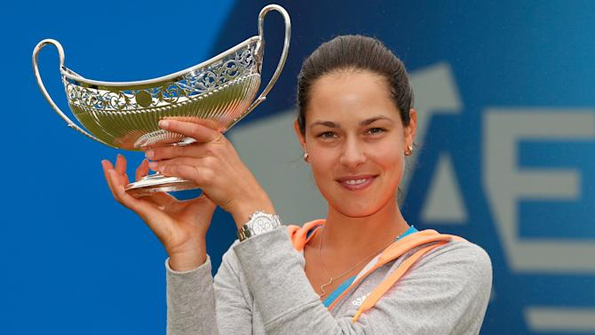 Tennis - Ivanovic wins first grass-court title at Edgbaston