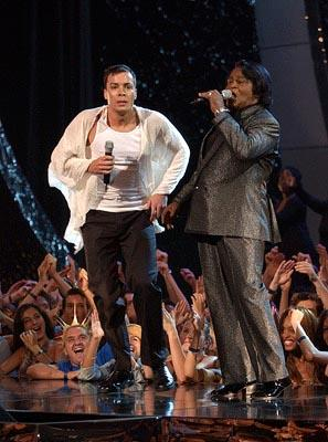 Jimmy Fallon and James Brown MTV Video Music Awards New York City - 8/29/2002