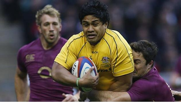 Rugby - Australia punish sloppy England at Twickenham