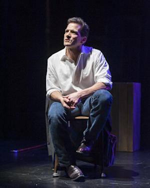 "This theater image released by Blake Zidell & Associates shows James DeVita in his one man show, ""In Acting Shakespeare,"" performing off-Broadway at The Pearl Theatre in New York. (AP Photo/Blake Zidell & Associates, Jacob J. Goldberg)"