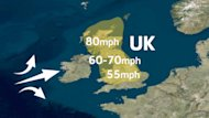 Hurricane Gonzalo Alert Cancels UK Flights