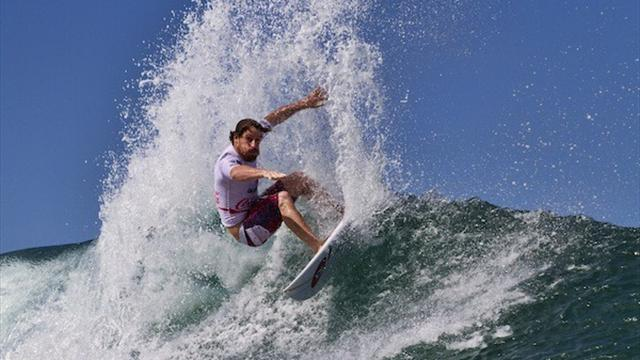 Surfing - Coleborn leads upsets in Fiji