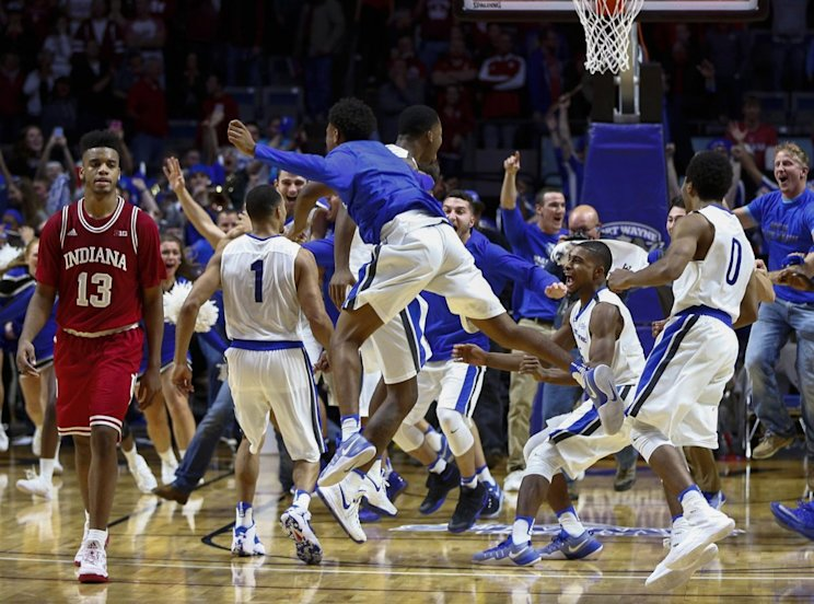 Indiana suffered a stunning 71-68 overtime loss at Fort Wayne on Tuesday night (Getty Images)