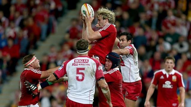 Lions Tour - Gray basks in Lions glory