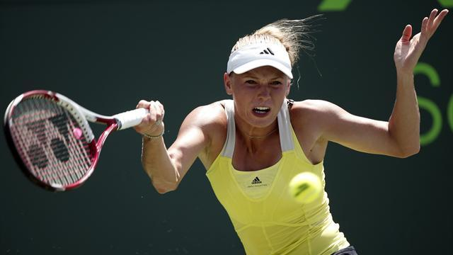 Tennis - Wozniacki suffers first-round defeat in Stuttgart