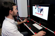 The $5 model is created in a hi-tech digital printing booth (Image: Makerbot)