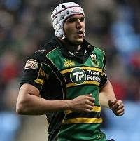 Juandre Kruger is one of three uncapped players included in South Africa's XV against England