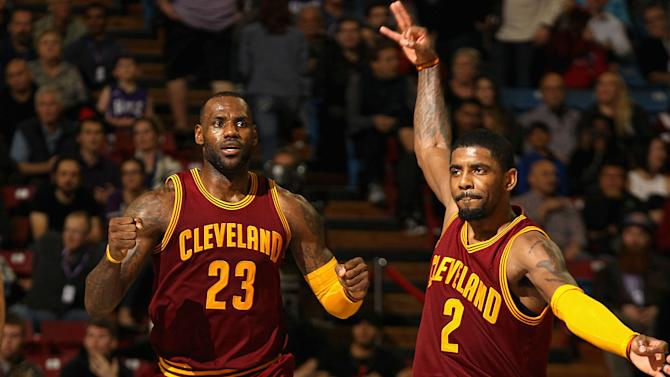 Kyrie Irving in position to reach next level; LeBron James ready to give him boost