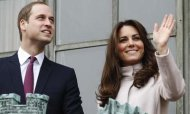 William And Kate Cheered Through Cambridge