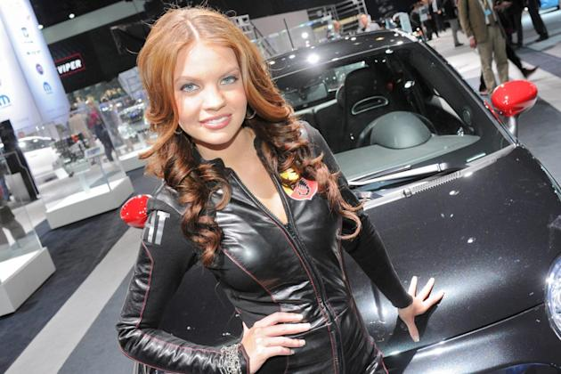 Ladies of the New York Auto Show