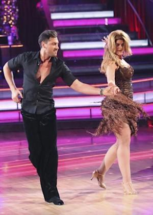 Maksim Chmerkovskiy and Kirstie Alley perform on the 'Dancing with the Stars: All-Stars' Season finale, Nov. 27, 2012 -- ABC