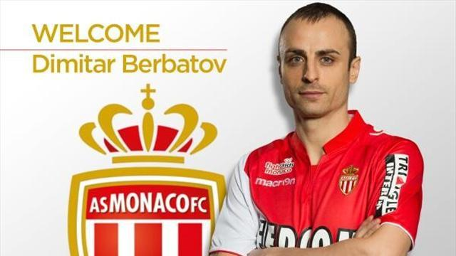 Ligue 1 - Berbatov completes move to Monaco, Senderos leaves too