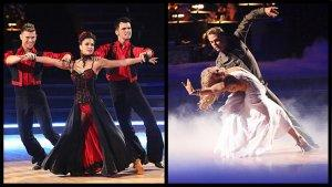 'Dancing With the Stars': Final 5 Struggle and Strip Through the Semifinals
