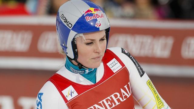 Winter Olympics - Vonn's status 'up in the air' for Sochi