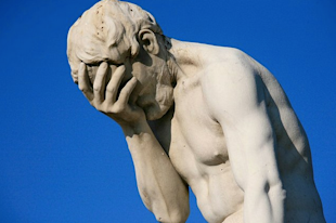 "Facepalm! 5 ""Don'ts"" for Social Selling image facepalm statue"
