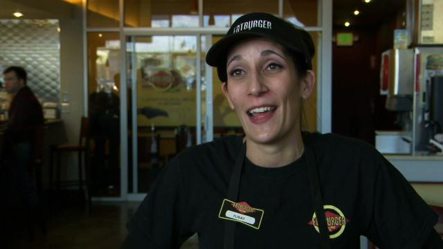 Undercover Boss - Deleted Scene: Cooking Burgers with Lisa (Fatburger)