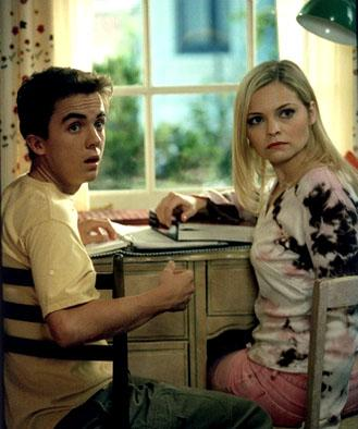 Frankie Muniz and Reagan Dale Neis in Fox's Malcolm In The Middle