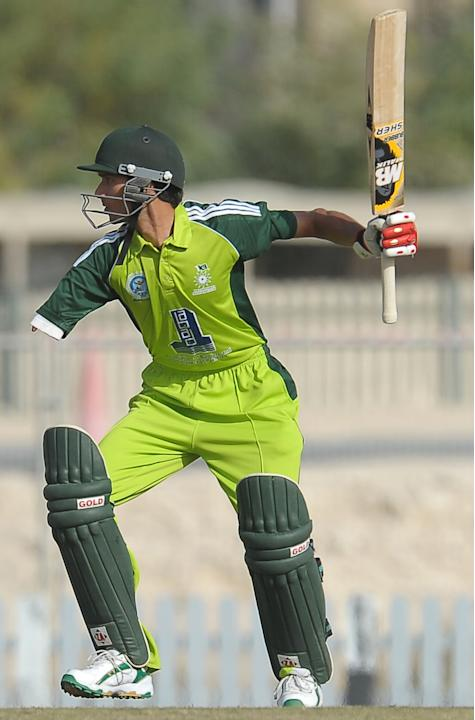 Pakistan disabled cricketer Matloob Qure