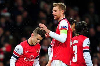 Mertesacker: Arsenal needs two perfect games to beat Bayern Munich