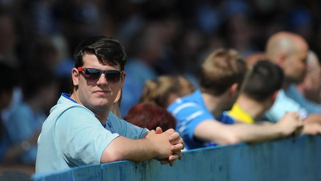 League One - Fans protest at Coventry friendly