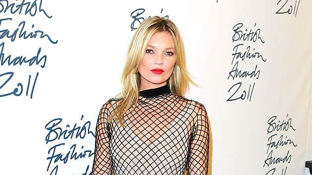 Kate Moss British Fashion Awards