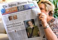 Australian newspapers lead their front pages on February 14, 2013, with the story of Ben Zygier. According to the Sydney Morning Herald, Australian intelligence officials believe that Zygier may have been about to reveal information about sensitive Mossad operations, including the use of falsified Australian passports, to either Canberra or to the media, when he was arrested