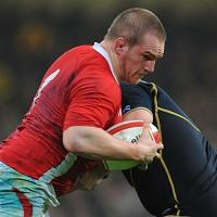 Gethin Jenkins is one of four players drafted into Wales' starting XV
