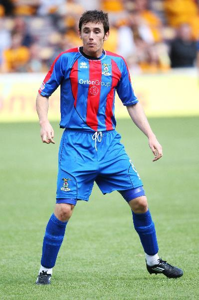 Former Inverness player Greg Tansey scored a stunning goal against Walsall