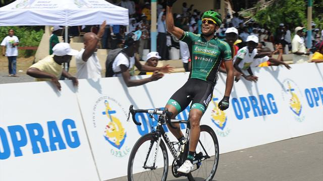 Cycling - Gene wins in Gabon as Dockx sprints to final stage
