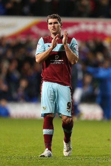 Sam Vokes headed in a vital equaliser for Burnley against Blackburn
