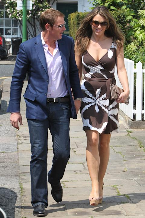 Celebrity Sightings In London - May 24, 2012