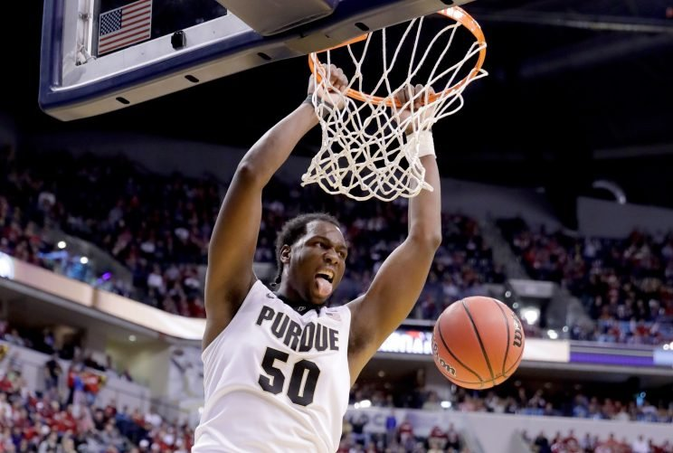 Purdue's Caleb Swanigan has been the Big Ten's best player through a month-and-a-half, but does he have the Boilermakers in pole position for the conference title? (Getty)